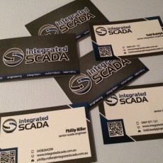 integratedSCADA has new business cards!