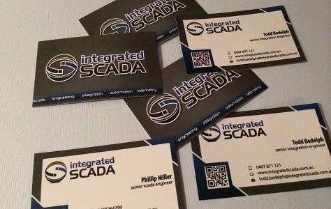 integratedSCADA has new business cards!